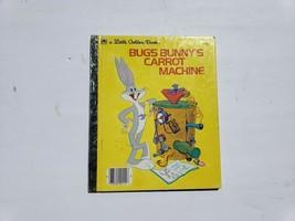 Bugs Bunny's Carrot Machine ( A Little Golden Book, No. 111-65) Clark Ca... - $9.75