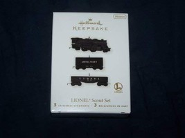 2010 Lionel Scout Train Set Hallmark Keepsake Christmas Ornament - $17.24