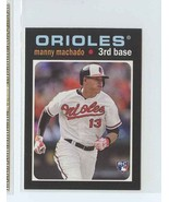 MANNY MACHADO RC 2013 Topps Update '71 Topps Minis #50 Baltimore Orioles... - $3.99