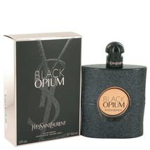 Black Opium by Yves Saint Laurent Eau De Parfum Spray 3 oz for Women - $93.41