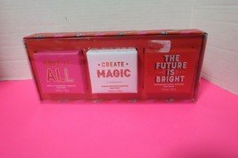 Simple Pleasures 3 Piece Bar Soap Collection Gift Set New In Box - $10.89