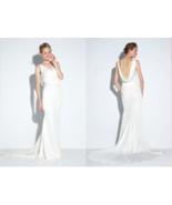 Nicole Miller Nina Ivory Women's Bridal Wedding Dress Gown Size 6 (M) $1200 - $656.37