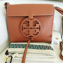 Tory Burch Fleming Convertible Chain Large Shoulder Bag - Brown image 3