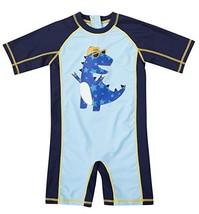 belamo one Piece Swimwear for Infant Boys Short Sleeve sunshirts 12-18 M... - $17.07