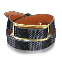 Concise & Classic Cowhide Leather Wrap Bracelet Wristband For Women - $16.99