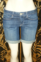 Gap 1969 Women's Stretch Denim Short jeans blue pants size 28 - $8.73
