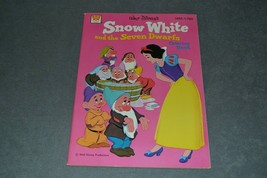 Whitman Coloring Book: Snow White and the Seven Dwarfs 1974 [NEW] NOS - $19.00