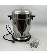 Melitta Coffee Pot Banquet Catering Urn 45 Cup Percolator Maker Server MEU45 - $59.99