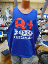 QANON Q+ 2Q2Q  WWG1WGA Trump 2020 3XL Tank Top Printed in USA - $19.75