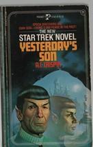 Yesterday's Son - Star Trek #11 - A.C. Crispin - PB - 1985 - Pocket Books. - $2.93
