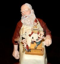 Days to Remember - Norman Rockwell Santa with Helpers Figurine AA19-1648 Vintag image 5