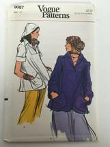 Vogue Sewing Pattern 9087 Misses' Topper Flared Top Shirt Vintage 1970s ... - $10.19