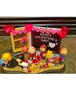 Danbury Mint Peanuts - Be My Valentine - Lighted Display  - $173.25