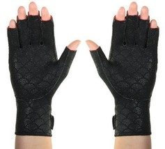 NEW Arthritis Hand Gloves Fingers Pain Reliever Warming Compression Heat... - $45.16