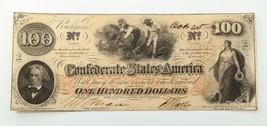 $100 Confederate Note in XF Condition T-39 - $173.24