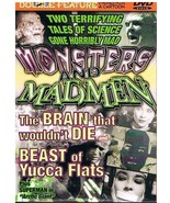 The Brain That Wouldn't Die & Beast of Yucca Flats Double Feature DVD - ... - $0.00
