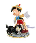 Disney Pinoccho and Figaro Jeweled Figurine by Arribas Ne... - $2,003.86
