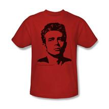 James Dean T shirt Silhouette vintage celebrity red graphic cotton tee DEA316B image 1