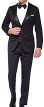 Mens Slimfit 2 Piece Premium Black Tuxedo image 2