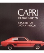 1971 Mercury Capri Brochure, Original Xlnt 71 - $6.91