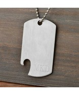 Engraved Dog Tag Bottle Opener Engraved Gifts Personalized Gifts - $16.73