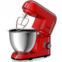 4.3 Qt 550 W Tilt-Head Stainless Steel Bowl Electric Food Stand Mixer-Re... - $155.42