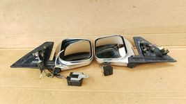 97-02 Mitsubishi Montero Pajero Sport JDM Chrome Heated Power Fold Mirrors L&R image 7