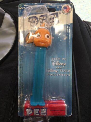 Primary image for Pez Finding Nemo Disney Pixar Collection New 2007 NIP Original Owner Clown Fish