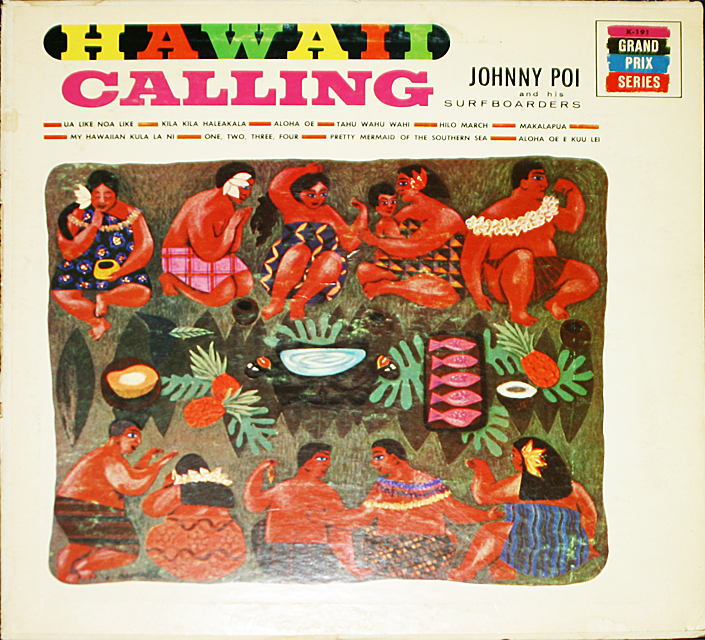 Johnny poi hawaii calling   cover