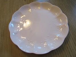 "LENOX BUTTERFLY MEADOW DINNER PLATE PETAL PINK 11"" EMBOSSED MINT - $11.83"