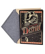 Hallmark Father's Day Greeting Card Star Wars Darth Vader The Force is S... - $5.12