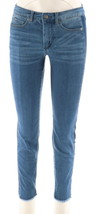 Women with Control My Wonder Ankle Jeans Contrast Sides Mid Blue 14 NEW A298645 - $35.62