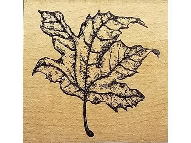 Rubber Monger 1997 Maple Leaf Rubber Stamp