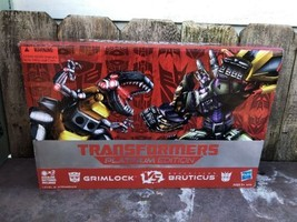 Brand New Transformer Grimlock Vs. Decepticon Bruticus Platinum Edition - $137.11