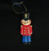 Russ Soldier Ceramic Christmas Tree Ornament - $3.95