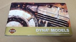 2013 Harley Davidson USED Dyna Models Owner's Manual 99467-13A - $22.52