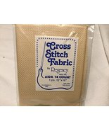 """Regency Cross Stitch Fabric, 14 Count Tan Aida Cloth, 12"""" X 18"""" Aida Cloth - $19.99"""