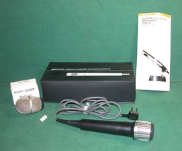 Classic Sony ECM-200S Electret Condenser Microphone with Wind Screen and... - $24.99