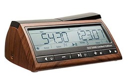 DGT 3000 Limited Edition - Wooden Look Digital Chess Timer - New Chess C... - $76.87