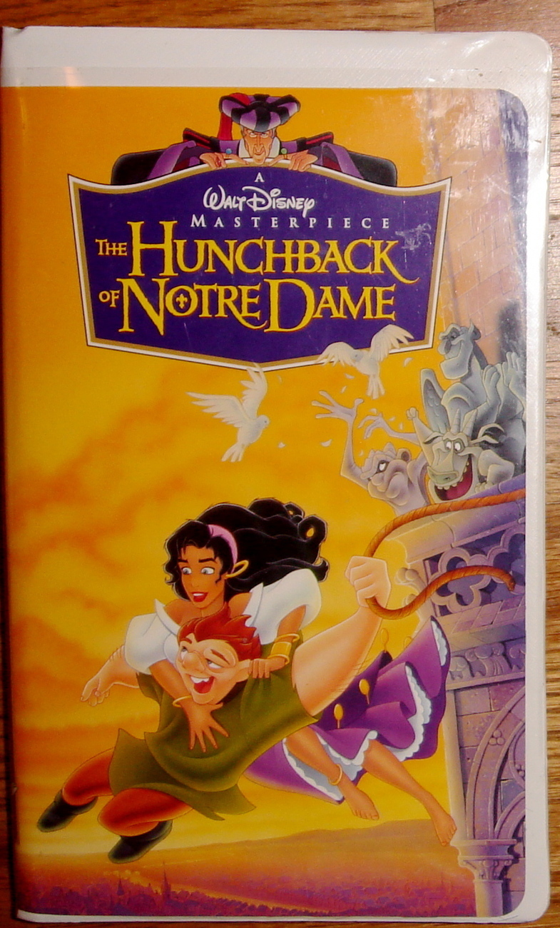 The Hunchback of Notre Dame (VHS, 1997) Freebie!  You just p
