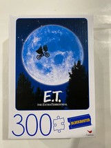 300 PIECE E.T. THE EXTRA-TERRESTRIAL MOVIE POSTER Jigsaw Puzzle Blockbuster - $7.86