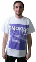 T.I.T.S. White Purple Hot Sexy Stripper Girl Smoking Section T-Shirt