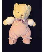 Carter's Bunches of Love Bear Plush Purple Flor... - $14.50