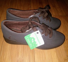 Womens Grasshoppers Avery Sport Casual Sneakers Size 5 Espresso Lace Up - $19.31
