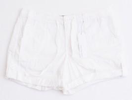Calvin Klein Jeans White Casual Drawstring Shorts Women's NWT - $29.99