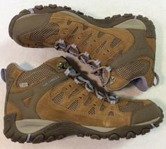 Merrell Women's Accentor Mid WTPF Stone/Orchid Hiking Boot J321085C SZ 10 M - $70.28