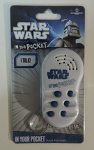Star Wars In Your Pocket Voice Keychain ( Darth Vader Princess Leia Yoda... - $8.00