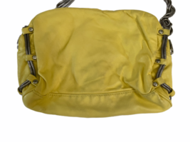 ALEXANDER WANG BRENDA Yellow Leather Crossbody Bag Purse Silver Hardware Dustbag image 6