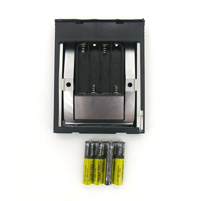 Polaroid 600 Camera Tester: Empty Film Test Cartridge + 4 New AAA Batteries!