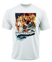 Killer Fish Dri Fit T-shirt printed active wear retro movie microfiber Sun Shirt image 2